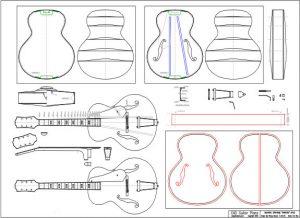 Archtop guitar plans cad guitar plans - Comment trouver un plan a 3 ...