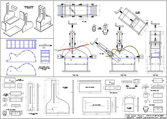 Cutaway Guitar Side Bender Plans