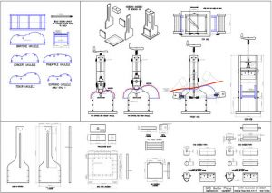 CAD Ukulele Side Bender Plan