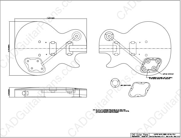 1958 Gibson Les Paul Schaltplang