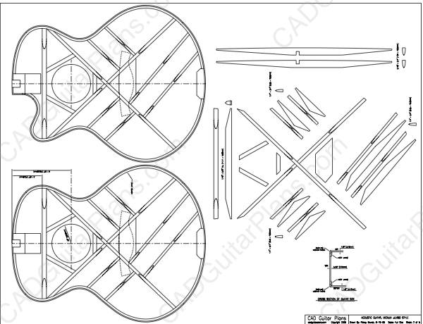 pdf medium jumbo acoustic guitar plan