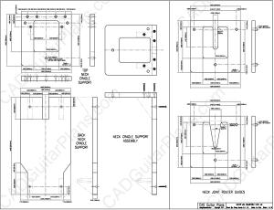 PDF Guitar Neck Joint Alignment Jig Plan