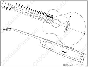 PDF Baritone Acoustic Guitar Plan Martin Style