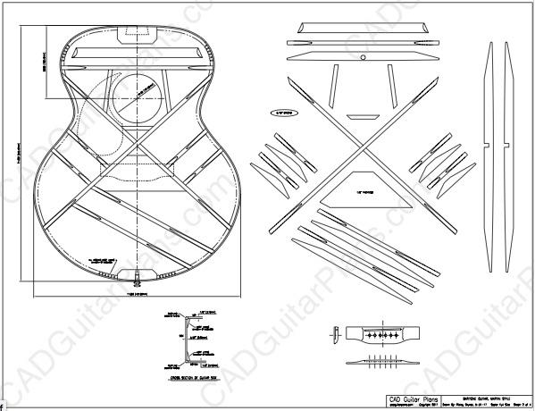 pdf baritone acoustic guitar plan martin style