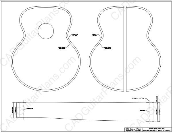 free acoustic guitar plan pdf